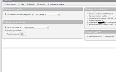 Szybka kopia bazy danych w WordPress