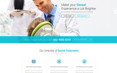 5 najlepszych motywów (szablonów) dla dentystów pod WordPressa